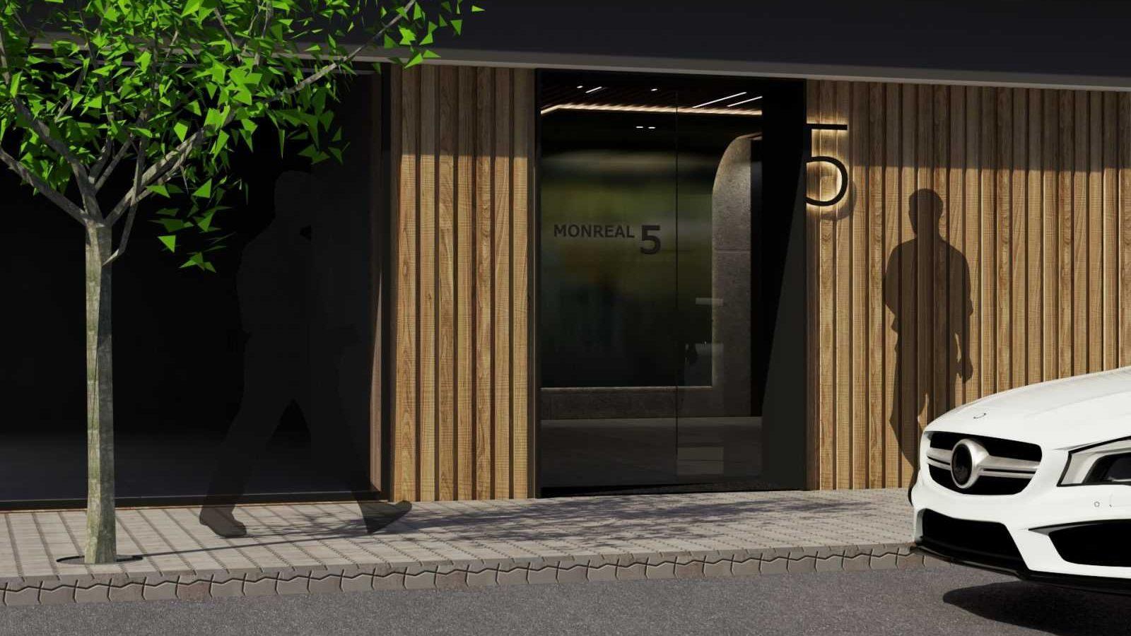 Portal exterior